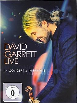 David Garrett - Live-In Concert & In Private [digipack] (dvd)