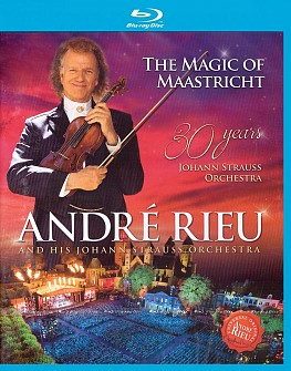 Andre Rieu - The Magic Of Maastricht:30 Years (blu-ray)