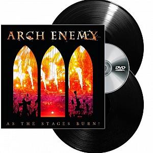 Arch Enemy - As Staged Burn! [Boxset LP] (2vinyl+dvd)