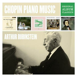 RUBINSTEIN ARTHUR - Plays Chopin : Original Album Classics (5cd)