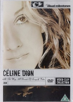 CELINE DION - ALL THE WAY...A DECADE OF SONG & VIDEO - slim (DVD)