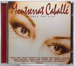 Montserrat Caballe  - Friends For Life (cd)