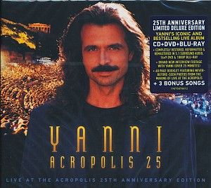 Yanni - Live at the Acropolis [25th Anniversary remastered ed]  (cd+bluray+dvd)