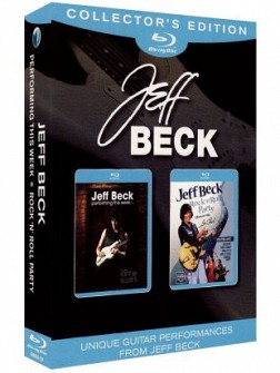 JEFF BECK - Live At Ronnie Scott's + Rock'N'Roll Party (2blu-ray)