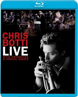 CHRIS BOTTI - Live With Orchestra (blu-ray)