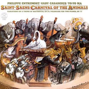 SAINT-SAENS - Carnival Of The Animals [Yo-Yo Ma] (cd)