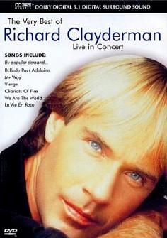RICHARD CLAYDERMAN - Very Best Of-Live in Concert 1990 (dvd)