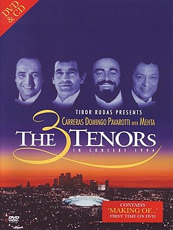 3 Tenors In Concert - The Three Tenors 1994 Concert In  L.A.[Mehta] (Dvd+Cd)