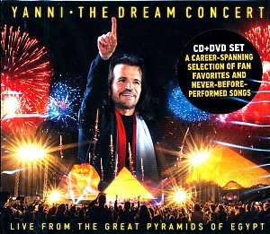 YANNI - Dream Concert:Live from the Great Pyramids of Egypt (dvd+cd)
