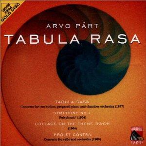 ARVO PART - Tabula Rasa (cd)