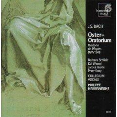 BACH J. SEBASTIAN - Oratorium – ORATORIO DE PAQUES BWV 249 [cd]