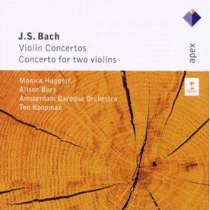 BACH J. SEBASTIAN - Violin Concertos [Koopman - conductor] (cd)
