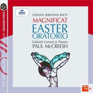BACH J. SEBASTIAN - OSTER ORATORIUM,MAGNIFICAT(G. CONSORTI) - CD