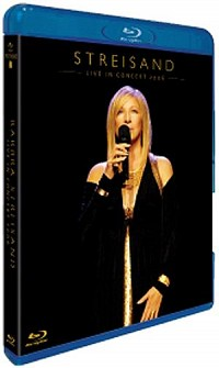 BARBRA STREISAND - The Concerts (Blu ray)