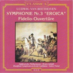 BEETHOVEN - SYMPHONIE NR. 3 - EROICA/FIDELIO [cd]