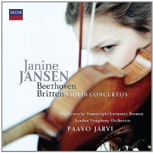 BEETHOVEN/BRITTEN - VIOLIN CONCERTOS/JANINE JANSEN (CD)