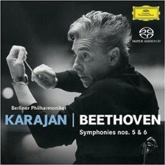 BEETHOVEN - SYMPHONIES NOS.5&6 – KARAJAN (SACD)