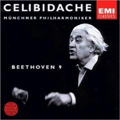 BEETHOVEN - SYMPHONY NO. 9 (CELIBIDACHE) [cd]