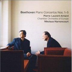 BEETHOVEN - PIANO CONCERTOS NOS. 1-5 [cd]