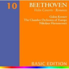 BEETHOVEN - VIOLIN CONCERTO/ROMANCES [cd]