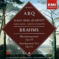 BRAHMS JOHANNES - KLARINETTENQUINTET [ALBAN BERG QT] (CD)