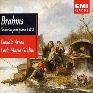 BRAHMS JOHANNES - PIANO CONCERTOS 1&2 (ARRAU/GIULINI) - [cd]