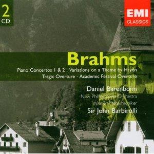 BRAHMS JOHANNES - PIANO CONCERTOS 1 & 2 [BARENBOIM] (cd)