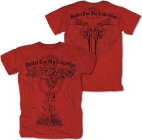 BULLET FOR MY VALENTINE - POISONED TREE [Tricou] red