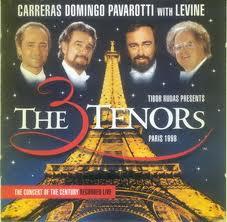 CARRERAS/DOMINGO/PAVAROTTI - THE THREE TENORS in PARIS 1998 (CD)
