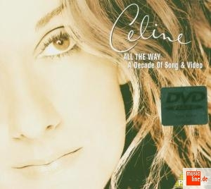 Celine Dion - All The Way�A Decade Of Song & Video [cd case] (cd+dvd)