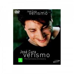 CURA JOSE - VERISIMO [PHILARMONIA ORCH.] (dvd)