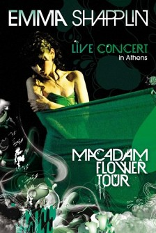 EMMA SHAPPLIN - Macadam Flower Tour (dvd)