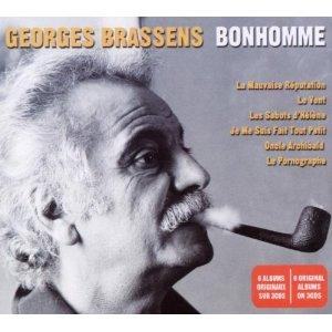 GEORGES BRASSENS - Bonhomme [6 Albums box digi] (3cd)
