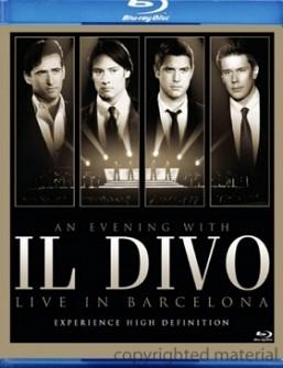 Il Divo - En Barcelona (blu-ray)