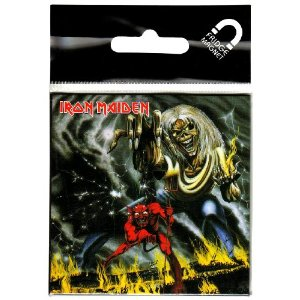IRON MAIDEN - THE NUMBER OF THE BEAST (magnet)