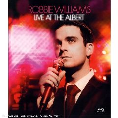 ROBBIE WILLIAMS - Live At Albert Hall (blu-ray)