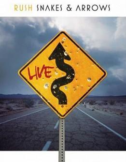 RUSH - Snakes And Arrow Live (blu-ray)
