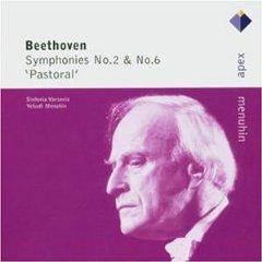 BEETHOVEN - Symphonies Nos 2 & 6 [Menuhin/Sinfonia Varsovia] (cd)