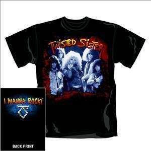 TWISTED SISTER - I Wanna Rock (tricou)