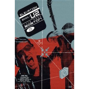 U2 - ELEVATION 2000 - LIVE IN BOSTON (dvd)